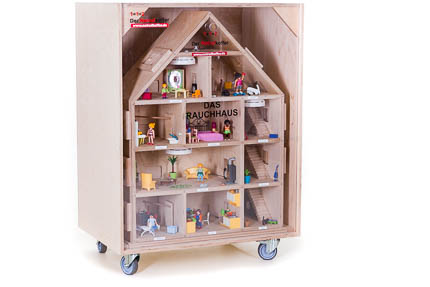 Einfamilienhaus mit Transportbox