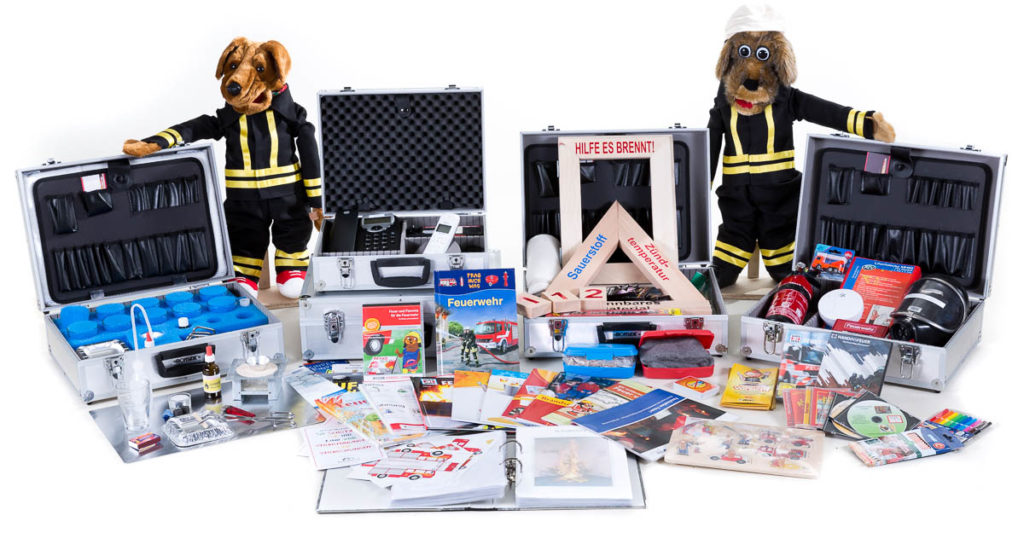Brandschutzkoffer und Notrufkoffer