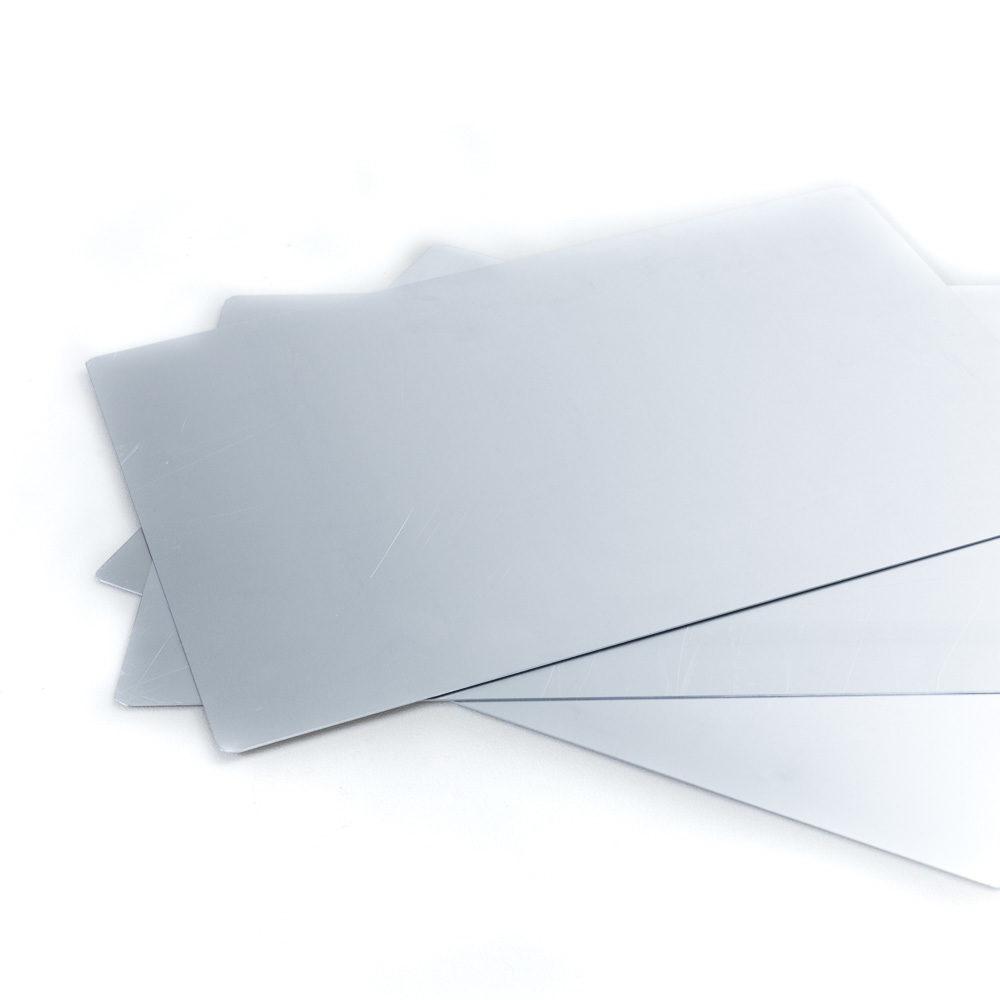 Unterlage aus Aluminium